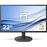 "Philips - MMD Monitors Italia Gaming Monitor 221S8LDAB, 22"" LED, Full HD, 1 ms, Casse Audio Integrate, HDMI, DVI, VGA, Low Blue Light Protezione Occhi, Flicker Free, VESA, Nero"