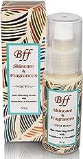 Bff Face Serum Skin Whitening for Lightening Skin Tone and Enhancing Facial Brightness. 50 Milliliters. 100% Certified Organic