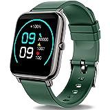 Popglory Smart Watch, Fitness Tracker with Blood Oxygen, Blood Pressure, Heart Rate Monitor, IP67 Waterproof Smartwatch Fitne