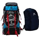 Hyper Adam 55 L Rucksack Hiking Backpack Trekking Bag Camping Bag Travel Backpack Outdoor Sport Rucksack Bag With Rian Cover