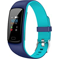Gusto 2.0 by Helix, Dual Color Fitness Band with Colored Display, HRM, SOS, Music Control, Message and Call Notification…