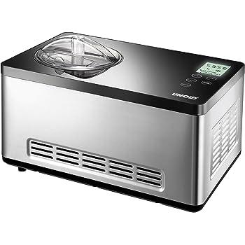 Amazon.de: Unold 48845 Eismaschine Gusto 2 L mit digitalem
