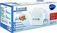 BRITA Filterkartuschen MAXTRA+ im 6er Pack – Kartuschen für alle BRITA Wasserfilter zur Reduzierung von Kalk, Chlor & geschm