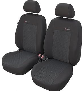 Baumwoll Universell Sitzbezüge SHIRT Antrazitgrau Renault Kangoo Schonbezüge