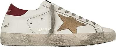 Golden Goose Scarpe Sneakers Uomo Vintage Superstar GMF00101.F00365.10288 Bianco