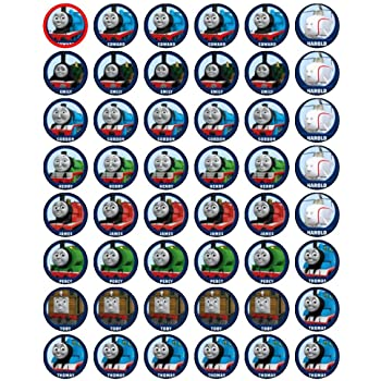 graphic relating to Free Printable Thomas the Train Cup Cake Toppers named 48 Thomas the Tank Motor Cupcake Toppers