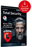 G DATA Total Security 2019 für 1 Windows-PC / 1 Jahr / Erstklassiger Rundumschutz durch Firewall & Antivirus  / Trust in German Sicherheit[Download]