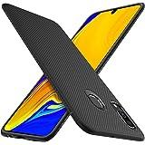 HOUROC Samsung Galaxy A40 Hülle, ultradünne Premium-weiche TPU-Schutzhülle mit Anti-Rutsch-Stoßfest Schlank, Aber langlebig für Samsung Galaxy A40-Telefon. Schwarz