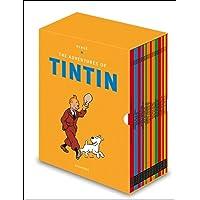 Tintin Paperback Boxed Set 23 titles