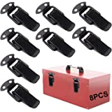 Closure Hasp 8 Pcs Chest Cabinet Lock Sluiting Hasp Spring Buckle Spanslot Roestvrij Staal Tension Lock Stainless Steel Hende