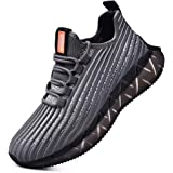 SANNAX Scarpe da Ginnastica Uomo Sportive Running Fitness Sneakers Traspiranti Outdoor Respirabile Casual Moda Corsa Leggero
