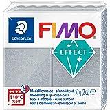 FIMO 8020-81 - Pasta de Modelar, Color Metálico Plata