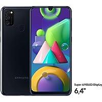Samsung Galaxy M21 Smartphone (16,21 cm (6,4'') 64 GB interner Speicher, 4 GB RAM, Android, black) Deutsche Version