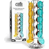 Green BEANS Support pour 24 capsules Dolce Gusto - Chromé - Rotatif à 360°