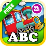 Kids Animal Train: Preschool and Kindergarten Learning Matching and Reading Adventure - ABC First Word Educational Games for Toddler Loves Farm and Zoo Animals & Colors (Abby Monkey® edition) Free