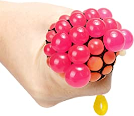 Indove Kids Mesh Squishy Anti-Stress and Non-Toxic Balls