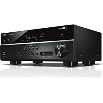 YAMAHA RX-V585 – Amplificateur Home Cinema 145W – Système Bluetooth, Wifi, Airplay, Multiroom – Compatible avec smartphones et ordinateurs – Noir