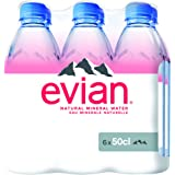 evian Natural Mineral Water 500ml (Promo) Pack of 6