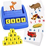 LET'S GO! Jeu de Correspondance de Lettres- Cadeau de Vacances Jouets Éducation pour Enfants (français)