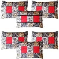 Amrange Cotton 152TC Pillow Cover (King_Multicolour)