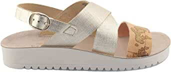 ALVIERO MARTINI - 0411 oro sandalo w E185/422A