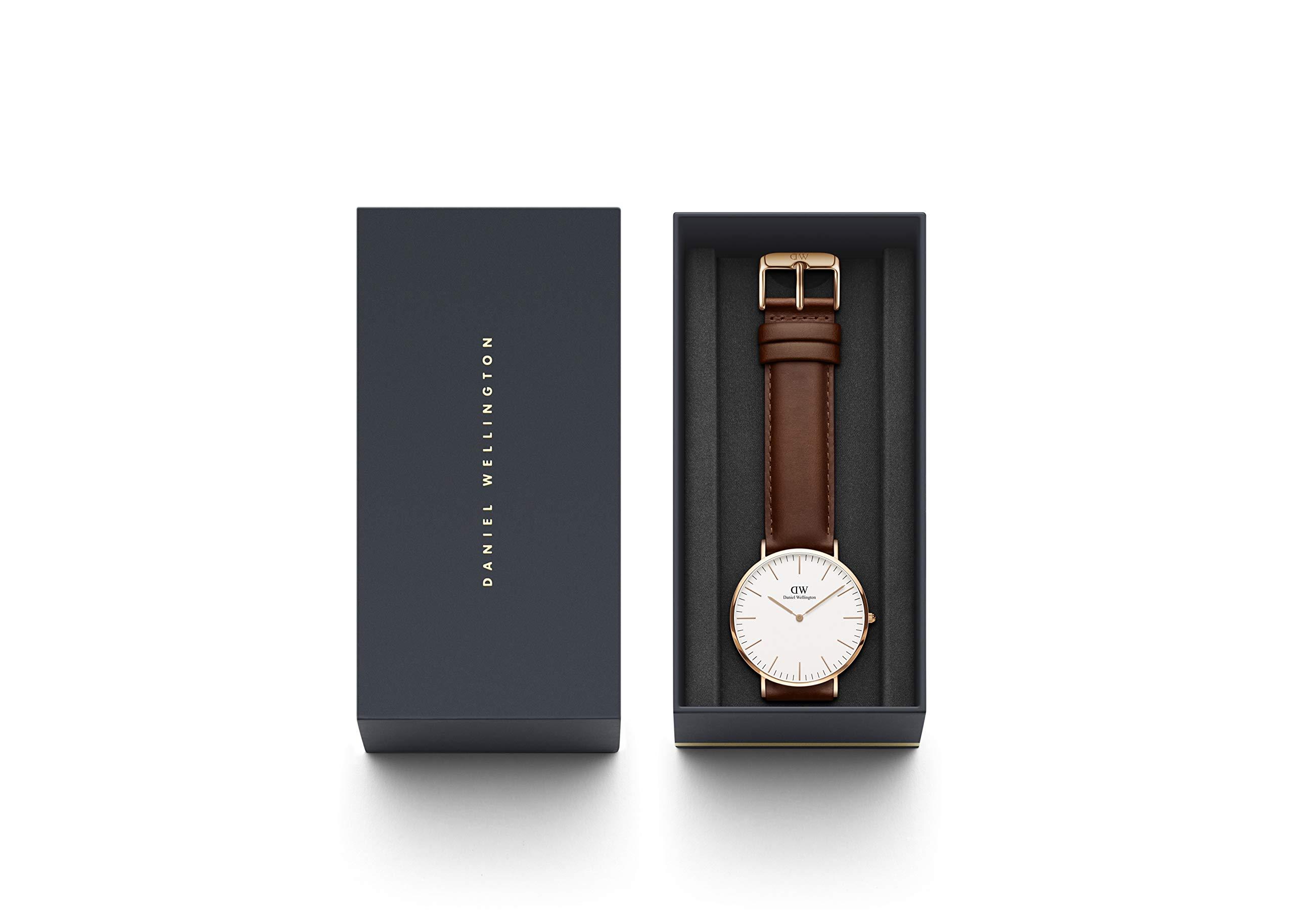 Daniel Wellington Classic St Mawes – Reloj de Pulsera (Correa de