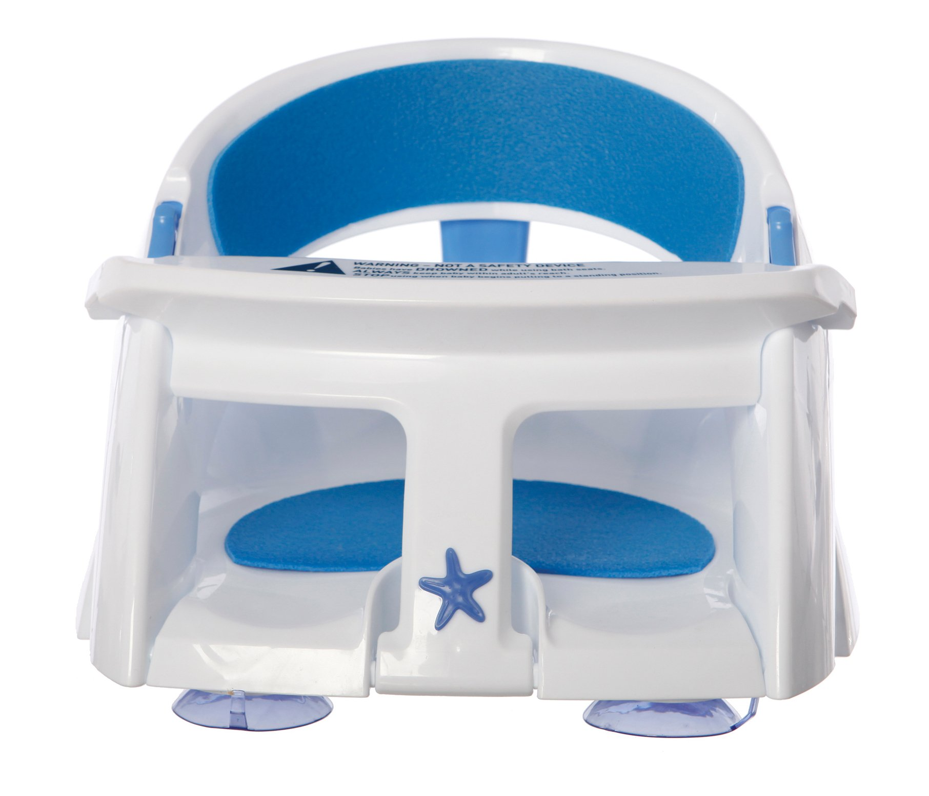 Dreambaby Super Comfy Bath Seat With Heat Sensing Indicator (6 to 24 months - White)