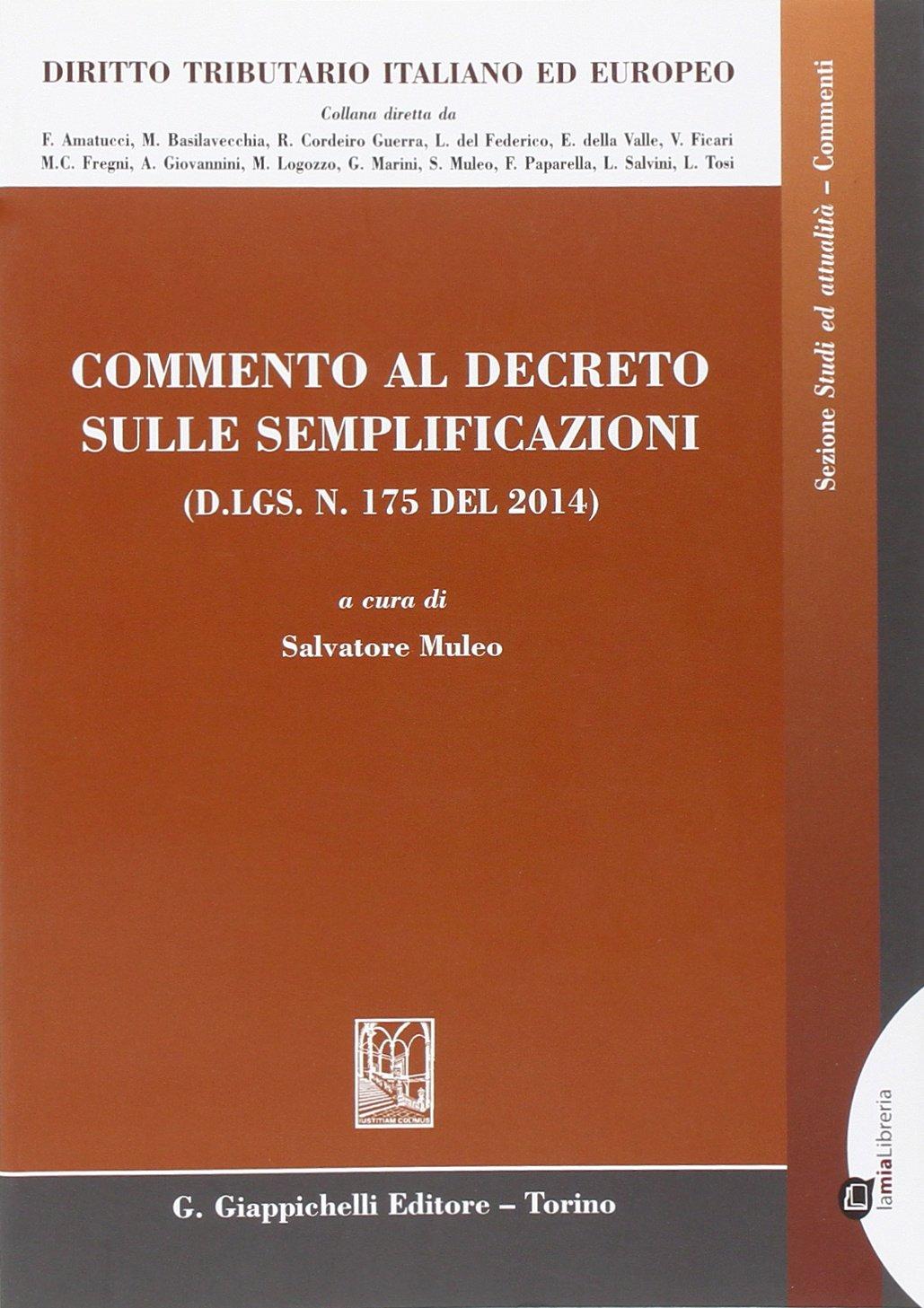 Commento al decreto sulle semplificazioni