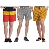 SHAUN Women's Cotton Shorts (Pack of 3)