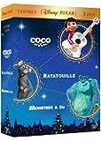 Coffret Disney Pixar Coco + Ratatouille + Monstres & Cie