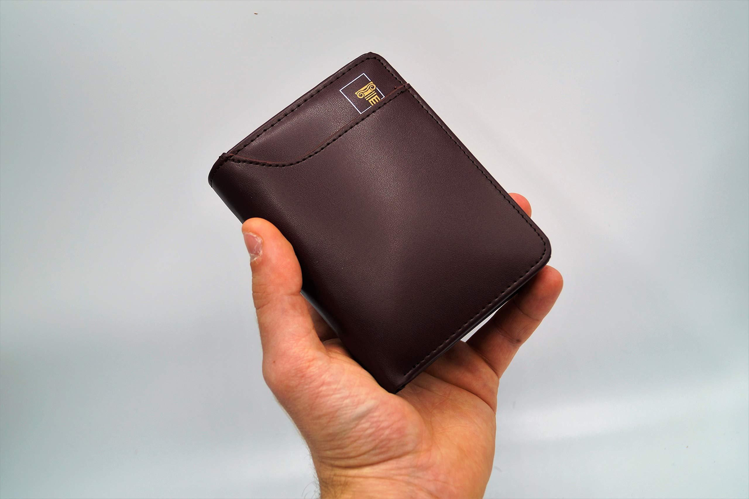 comprare on line 641a5 2b020 OLYMPIA Portafoglio Uomo con Zip, Wallet, Portatessere Tascabile ...