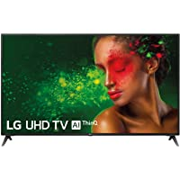 Téléviseur LED Ultra HD 4K 177 cm LG 70UM7100 TV LED 4K 70 pouces TV connecté / Smart TV Netflix Tuner TNT terrestre / satellite Enregistrement PVR (sur USB) Son 20 W