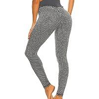 FITTOO Leggins Anti-Cellulite Sportivi Donna Pantaloni Tuta 3D Push up Yoga Pants Sexy Alta Elastico Fitness Ginnastica