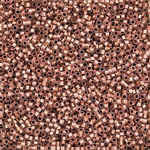 Toho Perlen 11/0Schatz Perlen kupfer gefüttert Alabaster 7,8g tt-01-741 -