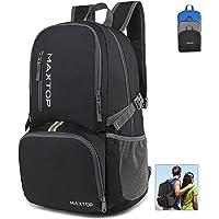 MAXTOP 40L Backpack Ultra Lightweight Packable Foldable Rucksack Water Resistent For Men Women Kids Outdoor Camping…