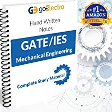 IES GATE PSU`S (2019) MECHANICAL Engineering Top Rankers Hand written Notes (Set of 13 Books)