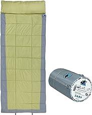 10T Schlafsack ZARA -13° warm weich 2250g leicht XXL Deckenschlafsack 230x90 Grün / Grau 350g/m²