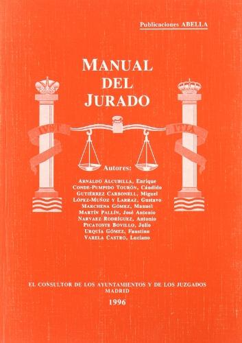 Manual del jurado por Varios Autores