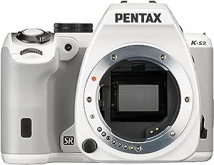 Pentax K S2 Spiegelreflexkamera 3 Zoll Nur Gehäuse Weiß Kamera