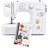 Janome beginner sewing machine kullaloo bitsyBEE by kullaloo, 5 year warranty - cool stickers included