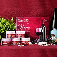 NutriGlow Wine Facial Kit For Blemish Free Fairer Complexion 260 g