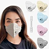 Sassoon Reusable Unisex Anti Fog N95 Mask with Nose Cushion (Multi color pack of 10)