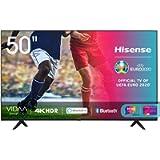 Hisense 50AE7000F, Smart TV LED Ultra HD 4K 50', HDR 10+, Dolby DTS, con Alexa integrata, Tuner DVB-T2/S2 HEVC Main10…