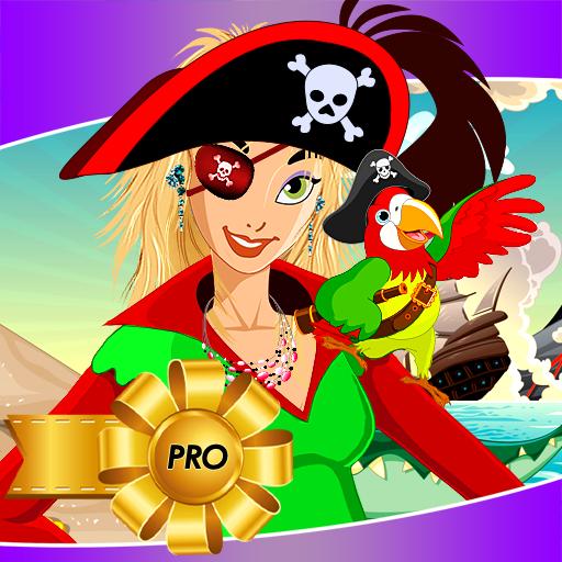 Piraten-Mädchen verkleiden sich ()