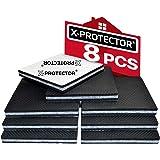 Meubelpads X-PROTECTOR - Antislippads - Premium 8 stuks 100 mm - Vloerbeschermers - Rubberen voetjes voor meubelpoten - Ideal