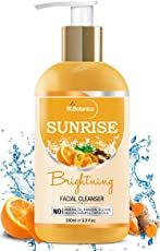 StBotanica Sunrise Facial Cleanser (Brightening Face Wash with Sandalwood, Saffron, Orange, Turmeric, Neem) 200ml