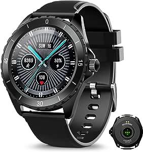 ELEGIANT Fitness Activity Tracker, Smartwatch Bluetooth 5.0 Orologio Impermeabile IP68 con 1,3'' Schermo Toccato 24 Sport 128MB Capacità per iPhone Samsung Huawei Motorola Oneplus NOKIA