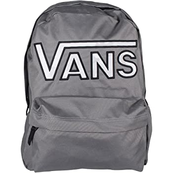e4296e86eb Vans Realm Flying V Backpack Casual Daypack, 42 cm, 22 Liters, Pewter  Grey/Snow Camo