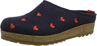 HAFLINGER Couriccini Grizzly, Pantofole Donna