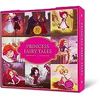 Princess Fairy Tales Boxset: A Set of 10 Classic Children Fairy Tales (Abridged and Retold)
